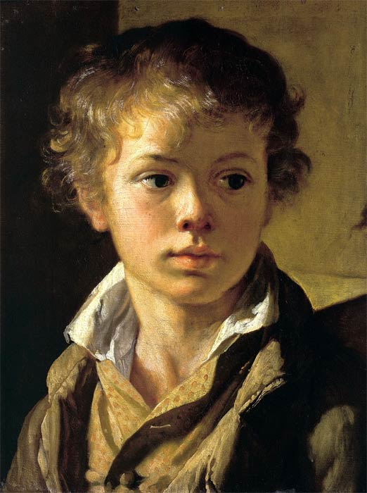 Тропинин Василий Андреевич, Портрет А. В. Тропинина (Голова мальчика)