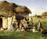Маковский Владимир Егорович, Крестьянские дети