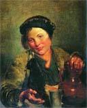 Маковский Владимир Егорович, Мальчик, продающий квас