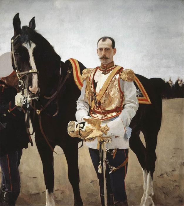 Серов Валентин Александрович, Портрет великого князя Павла ...