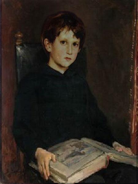 Виктор васнецов портрет михаила