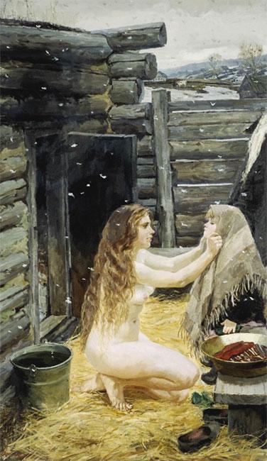 фото голые мать отец и дочь
